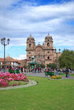 Church in Cuzco. Church Jesus Maria in Cuzco, Peru stock photography