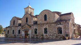 Church in Cyprus. Stone church in Cyprus - visit in vacation Royalty Free Stock Images