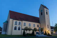 Church of Dachelhofen Royalty Free Stock Photography