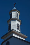 Church in Dalcahue - Chiloe - Chile Stock Photography