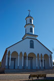 Church in Dalcahue - Chiloe - Chile Royalty Free Stock Images