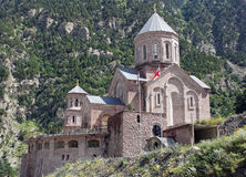 Church, Darial Gorge, Georgian Military Road, Georgia Stock Images