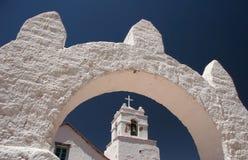 Church de San Pedro de Atacama Fotografía de archivo libre de regalías