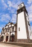 Church de Sao Sebastiao, Azores, Portugal. Stock Photos