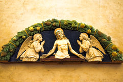 Church decoration in  Florence Stock Image