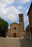 church dedicated to St. Francis of Assisi in Ravenna in Italy Ce Royalty Free Stock Photo