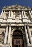 Church degli Scalzi in Venice Stock Photo