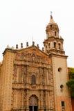 Church del carmen IV. Church del Carmen with its baroque facade at san luis potosi city, mexico Stock Photos
