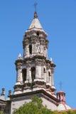 Church del carmen V. Belfry of church del Carmen at san luis potosi city, mexico Royalty Free Stock Photos