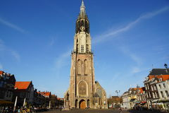 Church in Delft Royalty Free Stock Images