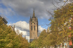 Church of Delft, Holland Stock Image