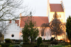 sædder Church in Denmark Royalty Free Stock Image