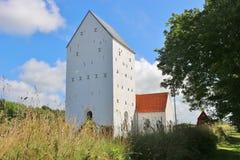 Church in Denmark, Scandinavia, Europe. Royalty Free Stock Image