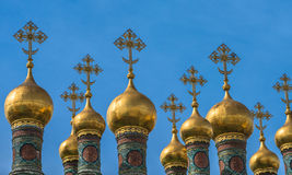 Church of the Deposition of the Robe, Moscow Kremlin, Rusiia Stock Photography
