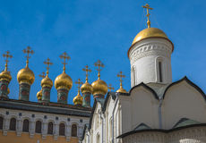 Church of the Deposition of the Robe, Moscow Kremlin, Rusiia Royalty Free Stock Photography