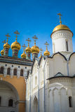 Church of the Deposition of the Robe, Moscow Kremlin, Russia Royalty Free Stock Image