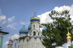 Church of the Descent of the Holy Spirit. Holy Trinity St. Sergius Lavra. Stock Photography