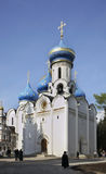 Church of Descent of Holy Spirit in Sergiyev Posad. Russia Stock Photos