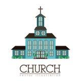 Church design Royalty Free Stock Image