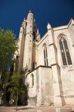 Church detail at avignon Stock Photo