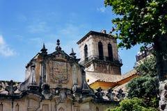 Church detail in Cordoba, Spain Stock Photo