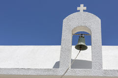 Church detail on a greek island Stock Photos