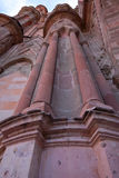 Church detail in San Miguel Royalty Free Stock Image