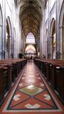 Church. Detailed church walk to heaven Stock Photography