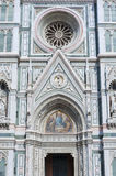 Church. Details of Basilica of Santa Maria del Fiore (Basilica of Saint Mary of the Flower) in Florence, Italy Royalty Free Stock Photos