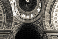 Church details in Mantua Royalty Free Stock Photography
