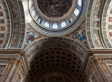 Church details in Mantua Royalty Free Stock Photos