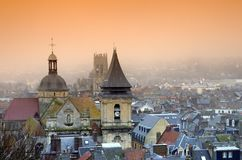 Church of dieppe city Stock Photo