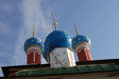 Church of Dimitry on Blood. Kremlin in Uglich. Royalty Free Stock Photos