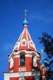 Church of Dimitry on Blood. Kremlin in Uglich. Royalty Free Stock Photo