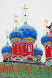 Church of Dimitry on Blood. Kremlin in Uglich. Royalty Free Stock Photography