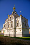 Church in Dmitrov Kremlin. Elizavetinskaya (Elizabeth's) church in Dmitrov Kremlin, Moscow region. Russia Stock Images