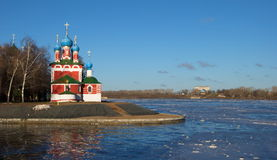Church Dmitry on the Blood in Uglich Royalty Free Stock Images
