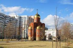 Church of Dmitry Solunsky Stock Images