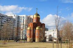 Church of Dmitry Solunsky Stock Image