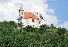 Church Dolni Kaunitz, Czech Republic, Europe Royalty Free Stock Photography