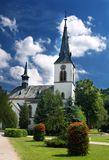 Church in Dolny Kubin. Catholic church in Dolny Kubin town in Orava region of Slovakia stock images