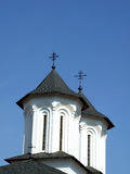 Church dome. Christian church dome against the blue sky Royalty Free Stock Images