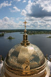 Church dome Stock Photography
