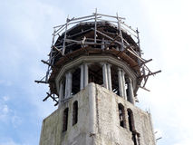 Church dome construction site Royalty Free Stock Photo