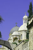 Church, dome roof, jerusalem. Typical dome roof in Jeruslem,Israel stock photography