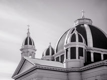 Church dome and steeples Stock Photography