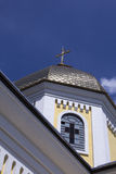 Church. Dome of the temple against the sky Royalty Free Stock Images