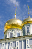 Church. Dome under a beautiful blue sky Royalty Free Stock Photography