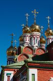Church Domes-03. Church Domes from Syberia Stock Photography