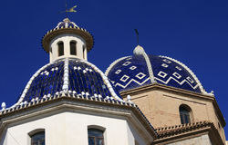 Church domes Royalty Free Stock Photos